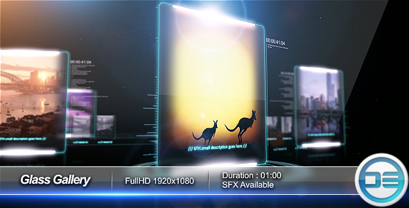 After Effects Project - VideoHive Glass Gallery 77120