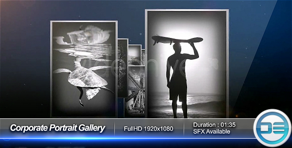 After Effects Project - VideoHive Corporate Portrait Gallery 66393
