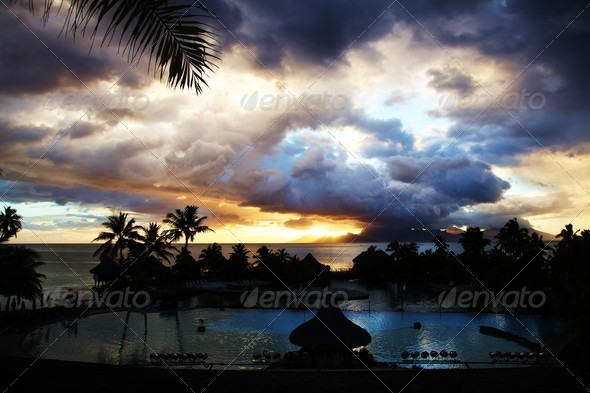 tropical island - Stock Photo - Images
