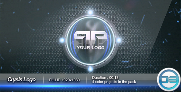 After Effects Project - VideoHive Crysis Logo FullHD 55109