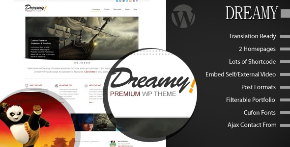 Dreamy - Premium Wordpress Themes -