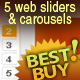 Web Sliders &amp;amp; Carrousels - GraphicRiver Item for Sale