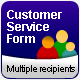 Customer Service Contact Form (many recipients) - ActiveDen Item for Sale