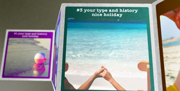 After Effects Project - VideoHive Holiday Memories 1283320