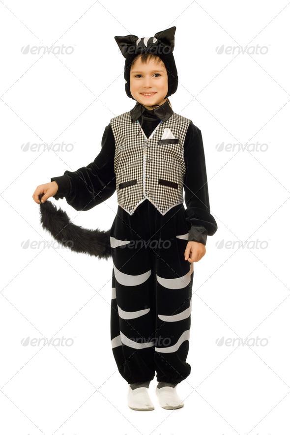 Костюм котенка для мальчика своими руками фото