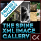 The Spine XML Product Viewer Image Gallery - ActiveDen Item for Sale