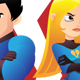 Love Quarrel Super Heroes - GraphicRiver Item for Sale
