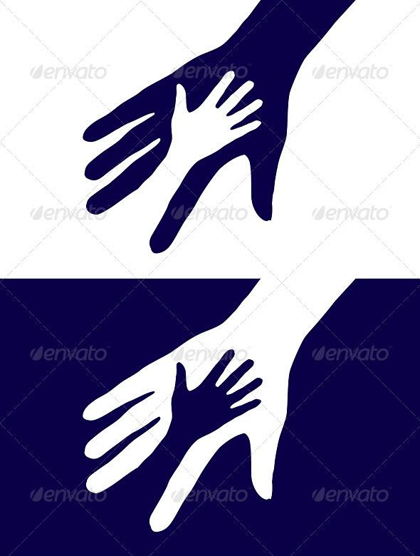 Hands Silhouette Graphicriver
