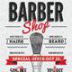 Barber Shop Vintage Flyer/Poster-Graphicriver中文最全的素材分享平台