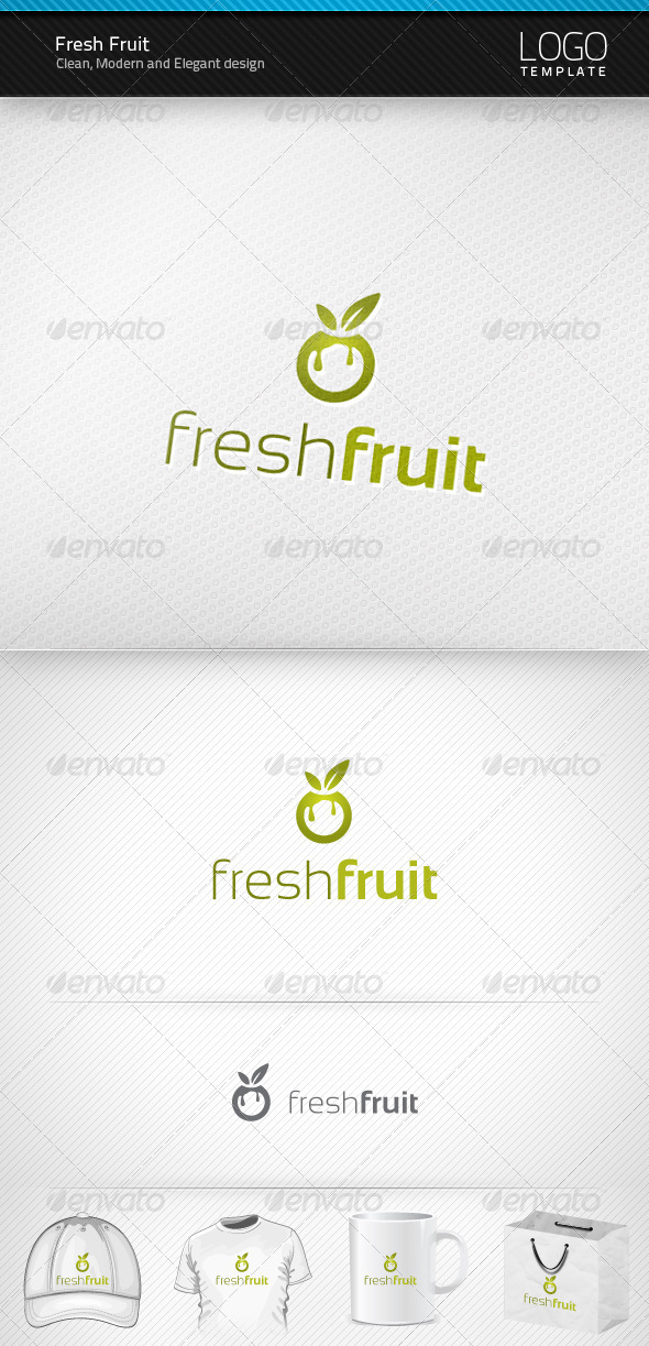 Fresh Fruit Logo - Symbols Logo Templates