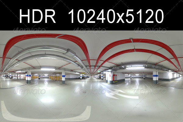 3DOcean Garage 2 HDR Environment 1290164