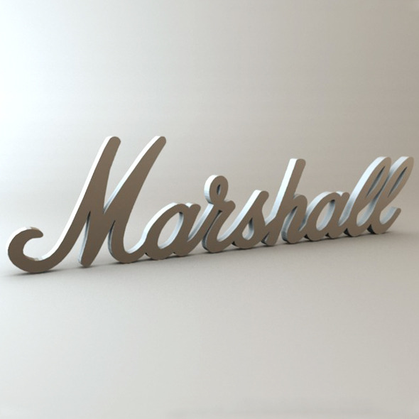 3DOcean Marshall Logo 233837