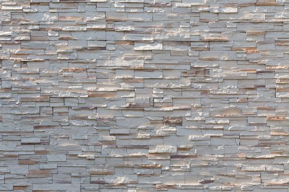 Stone White Wall Texture Decorative Interior Wallpaper Stock Photo By Sutichak