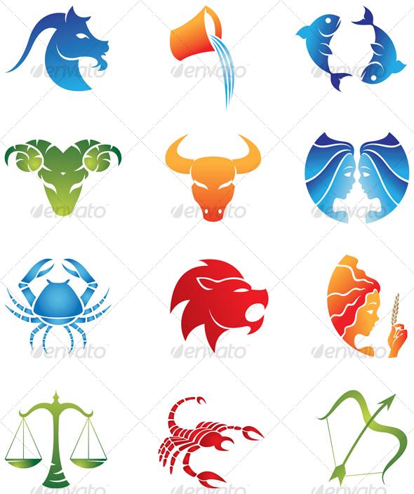 GraphicRiver zodiac signs 51805