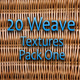 20 Weave Textures - Pack One - GraphicRiver Item for Sale
