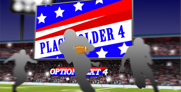 After Effects Project - VideoHive Football 3D Scene 156182