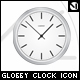 Glossy clock icon with 8 colour variations - GraphicRiver Item for Sale