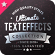 Ultimate Text Effect Collec-Graphicriver中文最全的素材分享平台