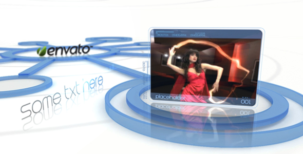 After Effects Project - VideoHive Video display elegant it slide showcase 136296