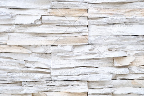 White Brick Stone Exterior And Interior Decoration Building Material For Wall Finishing Stock