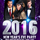 New Years Eve Bash Flyer-Graphicriver中文最全的素材分享平台