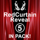 Red Curtain Reveal Pack - VideoHive Item for Sale