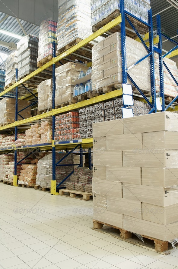 store warehouse - Stock Photo - Images