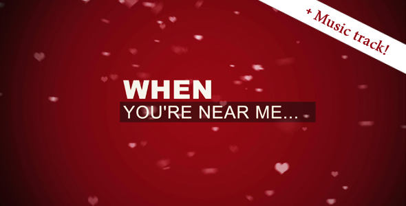 After Effects Project - VideoHive I just LOVE YOU 157210