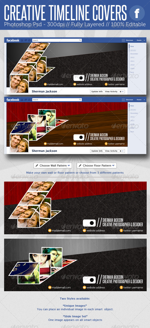 Creative Facebook Timeline Covers - Facebook Timeline Covers Social Media