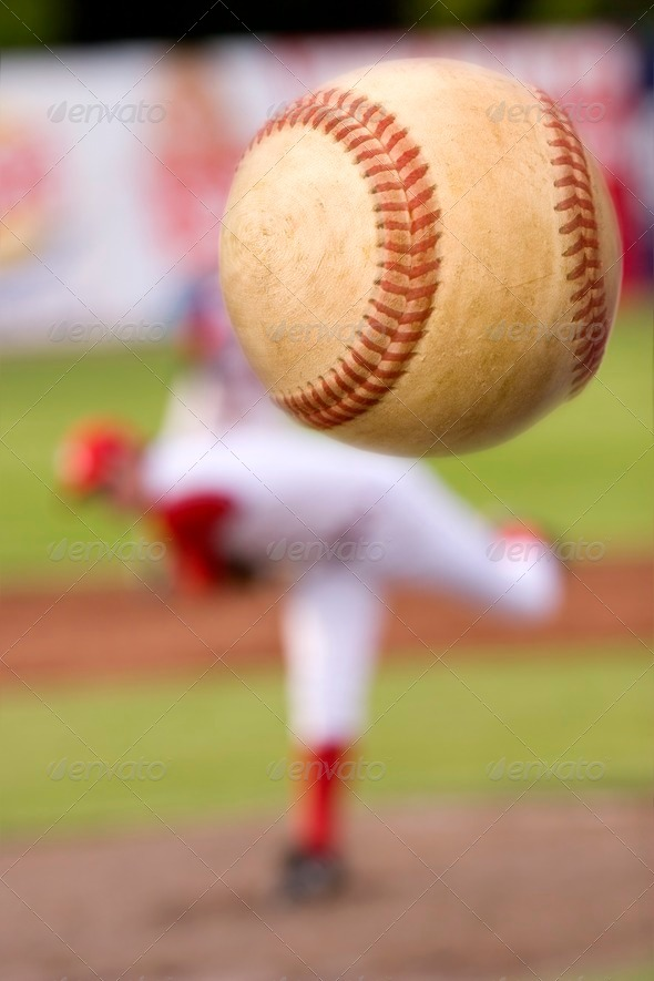 The pitch - Stock Photo - Images