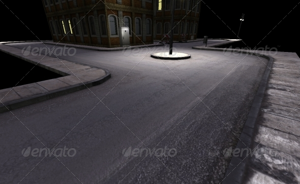3DOcean Road 3D Tileset 157257