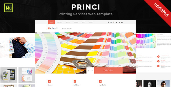printing web template template 2018