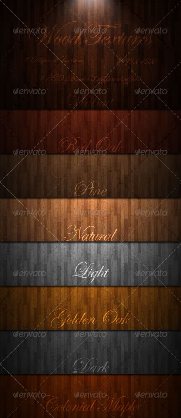 Wood Textures - 3DOcean Item for Sale