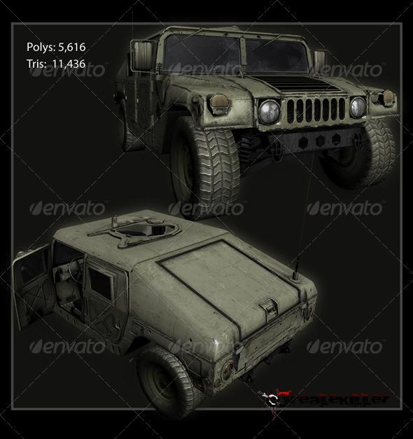 3DOcean Hummer H1 157510