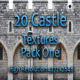 20 Castle Facade Textures - Pack One  - GraphicRiver Item for Sale