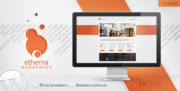 ThemeForest Etherna powerful and flexible WordPress theme 462474