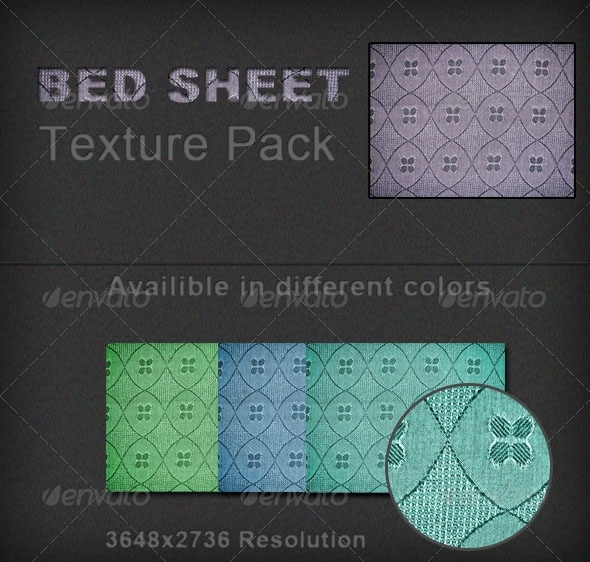 GraphicRiver Bed Sheet Cloth Texture Pack 157828