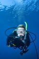 Woman Scuba Diving - PhotoDune Item for Sale