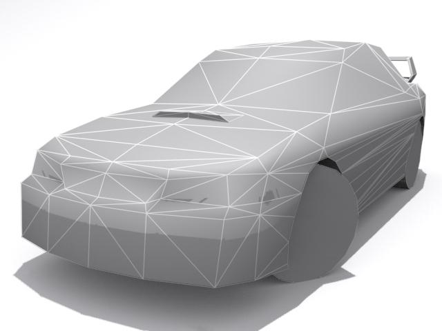 3DOcean Subaru Impreza WRX Base 1315770