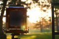 4x5 camera back at sunset - PhotoDune Item for Sale