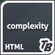 Сложность премиум HTML Theme - Корпоративный бизнес