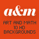 Art and Math HD Backgrounds - GraphicRiver Item for Sale