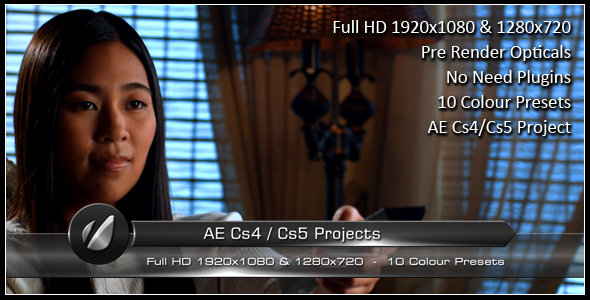 After Effects Project - VideoHive Business Arrow Lower Third 158337