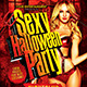 Sexy Halloween Party-Graphicriver中文最全的素材分享平台