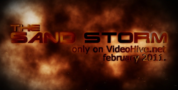 After Effects Project - VideoHive The Sandstorm Trailer 157654