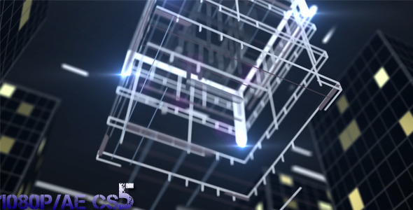 After Effects Project - VideoHive Skyscraper Opener 1324148