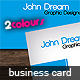2Colours Business Card - GraphicRiver Item for Sale