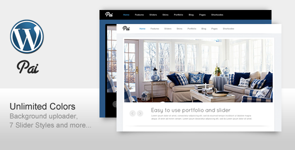 Pai - Simple and Clean Business Corporate Template - Business Corporate