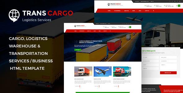 transcargo transport logistics html template by pixity themeforest. Black Bedroom Furniture Sets. Home Design Ideas