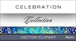 Vector Set of Golden Buttons